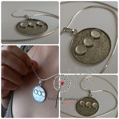 Yanne Jewelry Work- Katalin Rakoczy, protective talisman pendant, all rights reserved