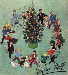 a very merry Tintin Christmas! <3