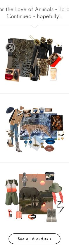 """For the Love of Animals - To be Continued - hopefully...."" by sharee64 ❤ liked on Polyvore featuring Milly, Temperley London, Dsquared2, Christian Louboutin, Ciner, Topshop, Roberto Coin, Cartier, Frame and Donald J Pliner"