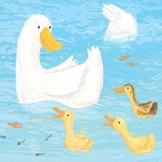 And today it's weather for ducks! #ducks #illustration #childrensillustration #kidlitart #boardbooks #boardbookart #animalart #animalillustration #wildlifeillustration #brightreads