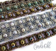 Marrakesh Bracelet Tutorial by Carole Ohl