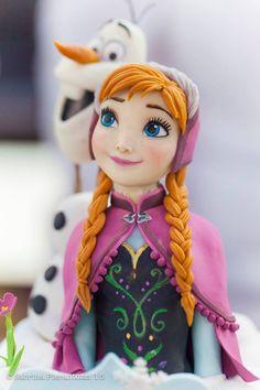 ❥Frozen | Anna & Olaf Cake