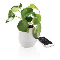 Cadeau personnalisé high-tech - Pot de fleurs musical