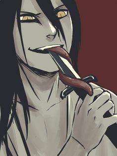 ` Orochimaru Naruto Shippuden Anime, Anime Akatsuki, Anime Drawings Sketches, Drawings, Anime, Naruto Shippudden, Fan Art, Manga, Boruto