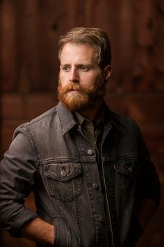 Beards. Men. Redhead. I normally can't pin red headed men, but there's something about this guy....