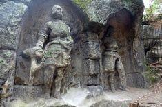 Mount Rushmore, Lion Sculpture, Statue, Mountains, Travelling, Sculptures, Bergen, Sculpture
