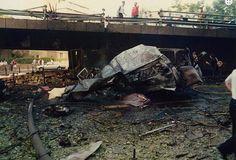 Masacre por ETA en c/ López de Hoyos en Madrid el 21/06/1993