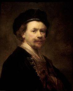 Rembrandt Harmenszoon van Rijn · Autoritratto · 1636-38 · Norton Simon Museum · Pasadena