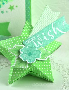 Make A Wish Gift Box by Dawn McVey for Papertrey Ink (July 2016)