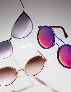 Sunglasses photography shot by Josh Caudwell. London based advertising commercial still life photographer.