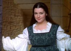"""Jacqueline (Melanie Lynskey) in """"Ever After."""" I personally thought she should have been the lead (Danielle), to me she looked the most like a Renaissance beauty of all of them."""