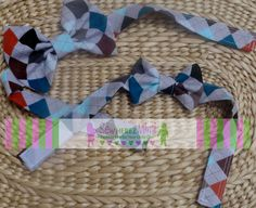 Set of 2 Father Son Custom Adjustable Bow Ties by SewHEREZMimi, $22.00