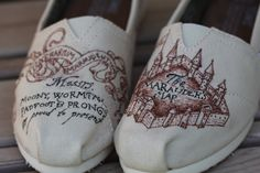 Marauders Map TOMS: Custom