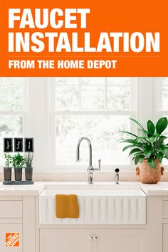 When It Comes To Bathroom Or Kitchen Faucet Installation The Home Depot Services Can Help