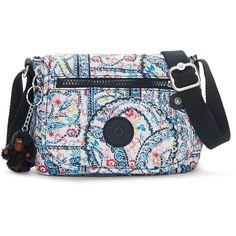 Kipling Sabian Mini Bag (765 MXN) ❤ liked on Polyvore featuring bags, handbags, lovely day print, pattern tote bag, miniature purse, kipling bags, mini tote handbag and handbags totes