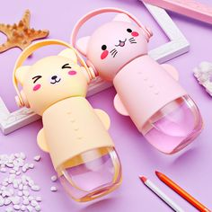 "Cute kawaii cartoon transparent glass SE10267      Coupon code ""cutekawaii""for 10% off"