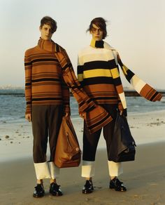 The first LOEWE Men's Collection - MUSE ARABIA MAGAZINE