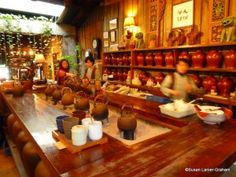 Jioufen Tea House Taiwan. www.wanderwithwonder.com #tea