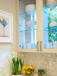 Kitchen Window Shelves: 12 Great Inspirations | Pinterest | Window on decor for shelves, painting ideas for shelves, lighting ideas for shelves, design ideas for shelves, kitchen cabinet ideas for shelves,