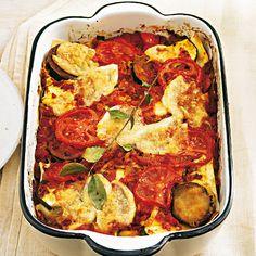 Gemüse-Lasagne mit Büffelmozzarella