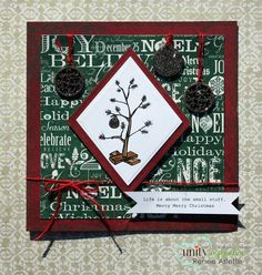 Unity Stamp Co. - Stamp of the Week - SMALL STUFF CHRISTMAS Sign Up Here ----------->http://unitystampco.com/shop/stamp-of-the-week/ This is the Stamp of the Week for 9.29.13 - 10.5.13. WHEN you sign up you can get ALL PAST STAMPS of the week for only $4.