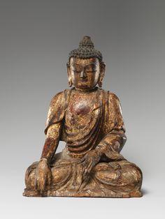 Buddha, probably Akshobhya (Achu fo) | China | Ming dynasty (1368–1644), Yongle period (1403–24) | The Metropolitan Museum of Art