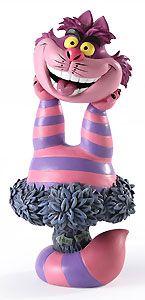 Alice in Wonderland - Cheshire Cat - Bust - Walt Disney Mini Busts - World-Wide-Art.com - $65.00 #Disney #Cheshire #Wonderland