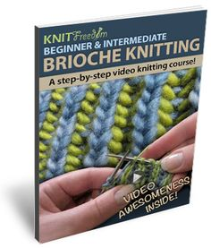 4 Free video #tutorials on #Brioche #Knitting