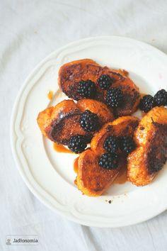 Francuskie tosty z dynią