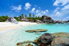 Bathe in the baths of Virgin Gorda and cross this beautiful beach off your #BeachBucketList