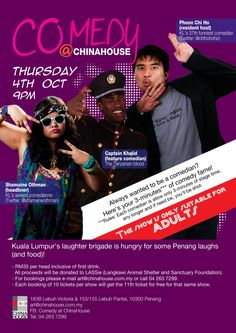 Comedy @ChinaHouse
