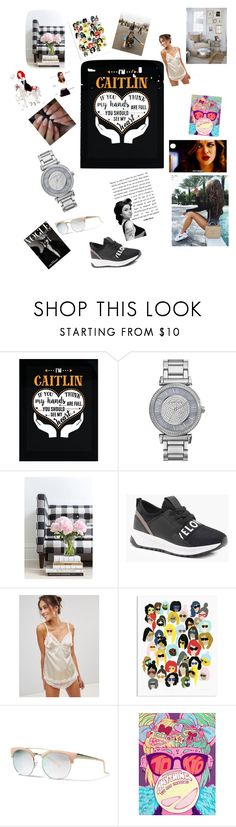 """My name is Caitlin xox"" by catyjane07 ❤ liked on Polyvore featuring Michael Kors, Caitlin Wilson, Boohoo, Lepel and Banana Republic"