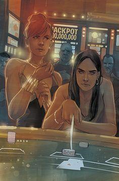 Black Widow #11 Cover- Laura Kinney, ladies and gentlemen! - Phil Noto