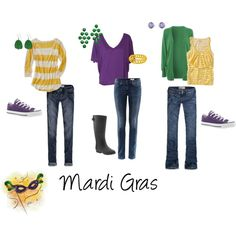 mardi gras outfits = shoes for bourbon street!