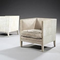 Shagreen Cubic Chair The concept of the chair was influenced by building structure.
