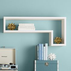 Found it at Wayfair - Erica L-Shaped Floating Shelf
