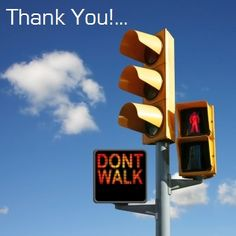What do you do when stopped at a cross-walk?  Leave your comments!