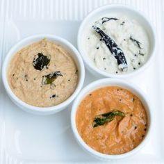 South Indian Chutney : Three Basic Recipes