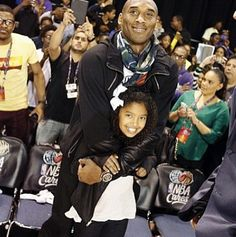 Kobe and 10-year-old daughter Natalia