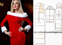 Allusive DRESS THE CHRISTMAS SEASON - Molds for Measure Fashion