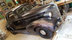 Strictly Business: 1938 Pontiac Business Coupe - http://barnfinds.com/strictly-business-1938-pontiac-business-coupe/