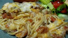 Baked Spaghetti from Trisha Yearwood