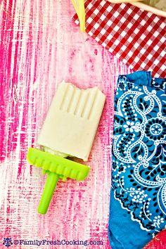 Creamed Corn Popsicles Recipe on FamilyFreshCooking.com | © MarlaMeridith.com