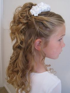 Sensational Long Hairstyles Easy Curly Hairstyles And Little Girls On Pinterest Short Hairstyles For Black Women Fulllsitofus