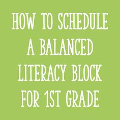 Rebecca Strebel  Balanced Literacy