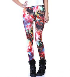 #urbanplanet #leggings #printed #printedleggings #trippy #planet #astral #galaxy #outerspace #color #colour #wedgesneaker