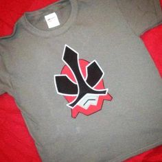 Red Power Ranger birthday shirt with by SewAdorablebyMolly on Etsy, $20.00