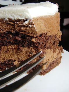 Chocolate Mousse Cake - Receitas, Jantar Idéias, Receitas Saudáveis e Guia Alimentar