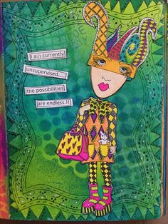 Large Dylusions Journal