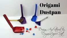 How To Make An Origami Dustpan ( Đồ Hốt Rác)||Tutorial By OrigamiPaperCraft